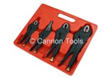 LOCKING PLIERS - 4 PIECE SET