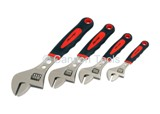 ADJUSTABLE WRENCH SET - 4 PIECE