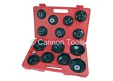 OIL FILTER WRENCH SET - 16PC CUP TYPE