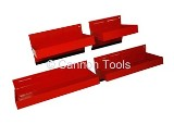 MAGNETIC TOOL TRAYS - 4PC SET