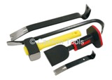 WRECKING BAR AND BOLSTER SET - 5PC