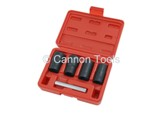 TWIST SOCKET SET - 4PC 1/2INCH 17-22MM