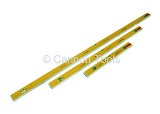 SPIRIT LEVEL SET 3PC HEAVY DUTY 24IN.+48IN.+72IN.