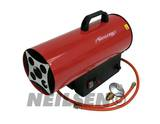 PROPANE SPACE HEATER. GAS TYPE RED BODY 15KW