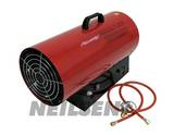 PROPANE SPACE HEATER.GAS TYPE RED BODY 50KW