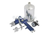HVLP SPRAY GUN GUN KIT WITH REGULATOR
