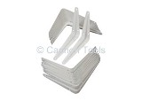 SHELF BRACKET WHITE 5INS X 6INS
