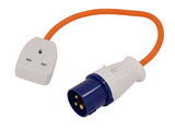 TRAILING SOCKET LEAD 240V UK PLUG