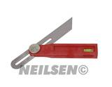 MULTI-FUNCTION BEVEL WITH SPIRIT LEVEL 200MM