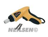 CORDLESS SCREW DRIVER 3.6V LI-ION WITH 2 SCREWS