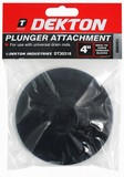 RUBBER PLUNGER ATTACHMENT 4INS