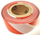 HAZARD TAPE RED AND WHITE
