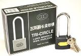LONG SHACKLE IRON PADLOCK 50MM