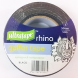 GAFFER TAPE 50MM X 50M BLK