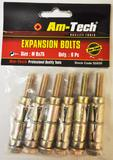 6PC EXPANSION BOLTS SIZE 8X75