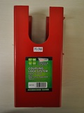 COUPLING LOCK RED COLOUR PLATED 110 X 110